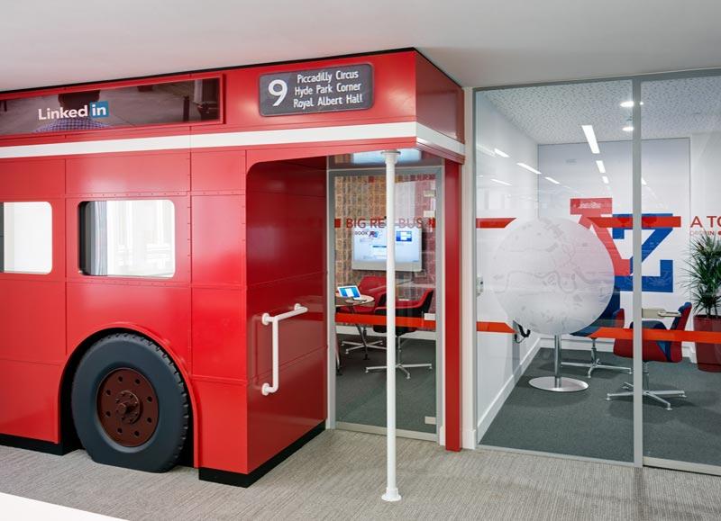 London Bus meeting room entry