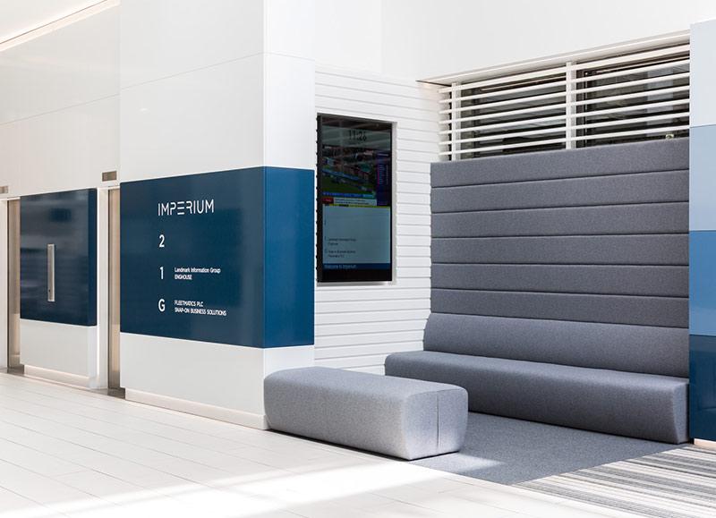 Atrium Feature Panelling