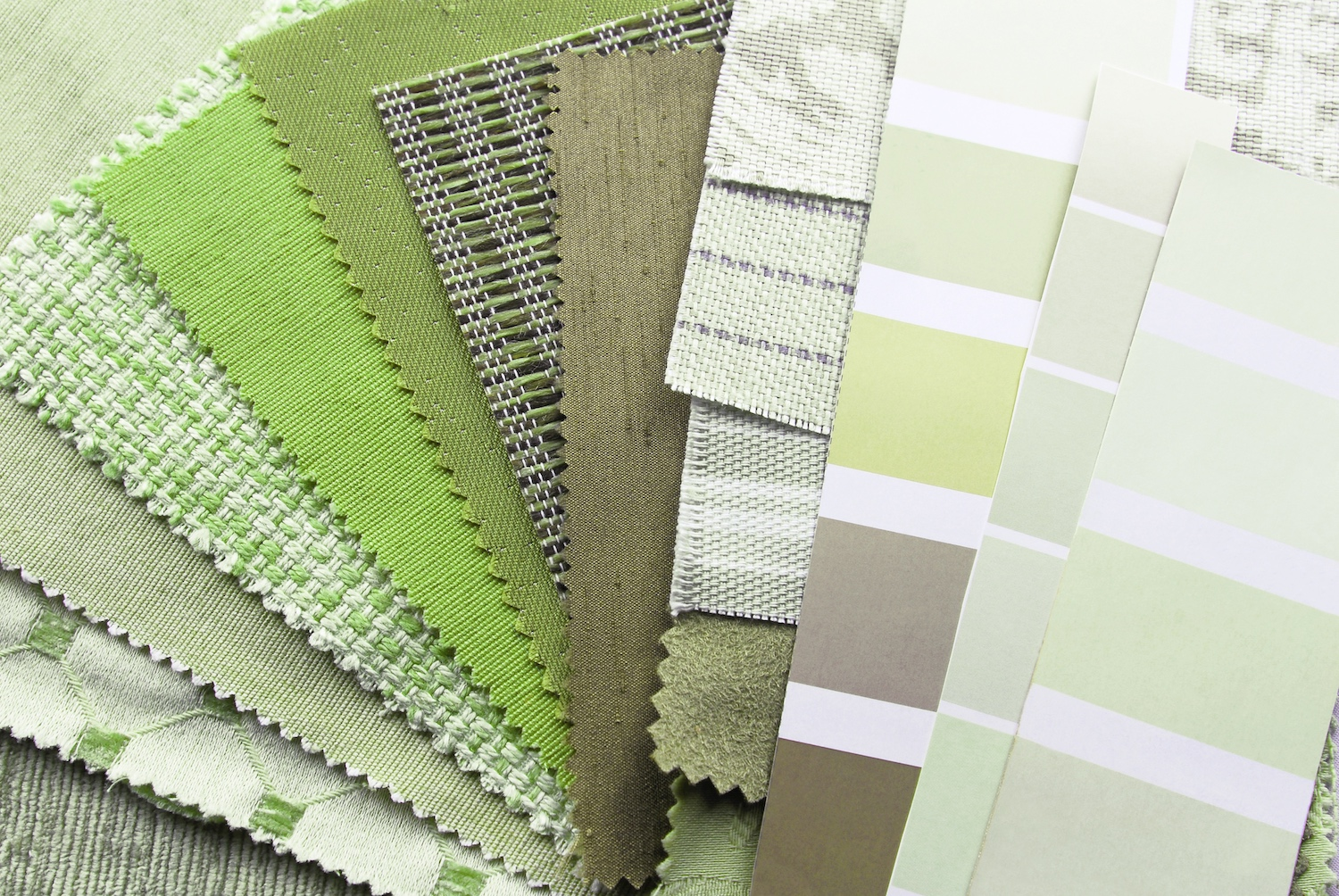Green fabric colour psychology